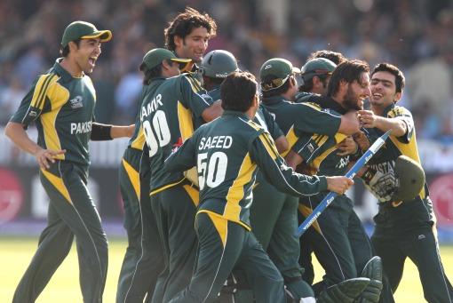 Pakistan celebrates
