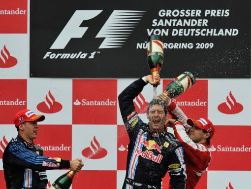 Webber wins